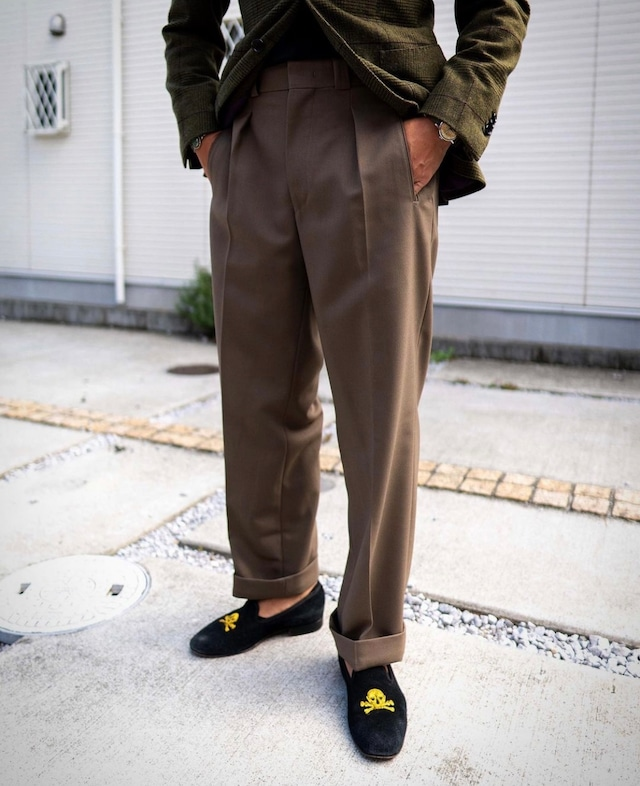 Tangent / Tan04 French Army Adjuster Pants ヴィンテージウール