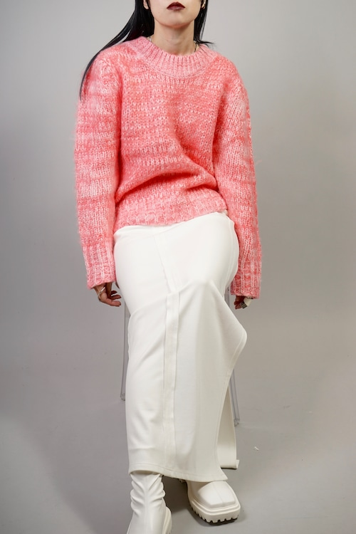 MIX COLOR SWEATER  (PINK) 2109-81-521