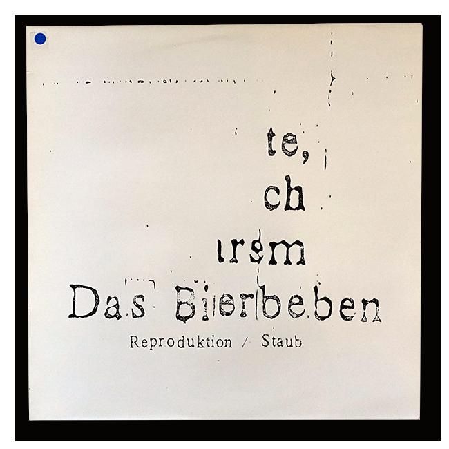 "Das Bierbeben – Reproduktion / Staub (12"" EP) - 画像1"