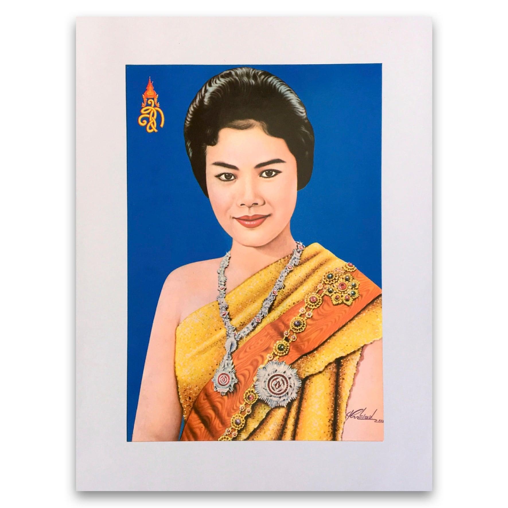 タイ王妃の肖像画|Portrait Poster of Queen of Thailand