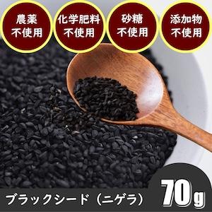ブラックシード(ブラッククミンシード:70g)スパイス 農薬不使用 化学肥料不使用 天日干し 無添加 スーパーフード