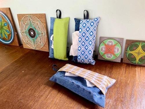 Box ティッシュカバーIndian fabric
