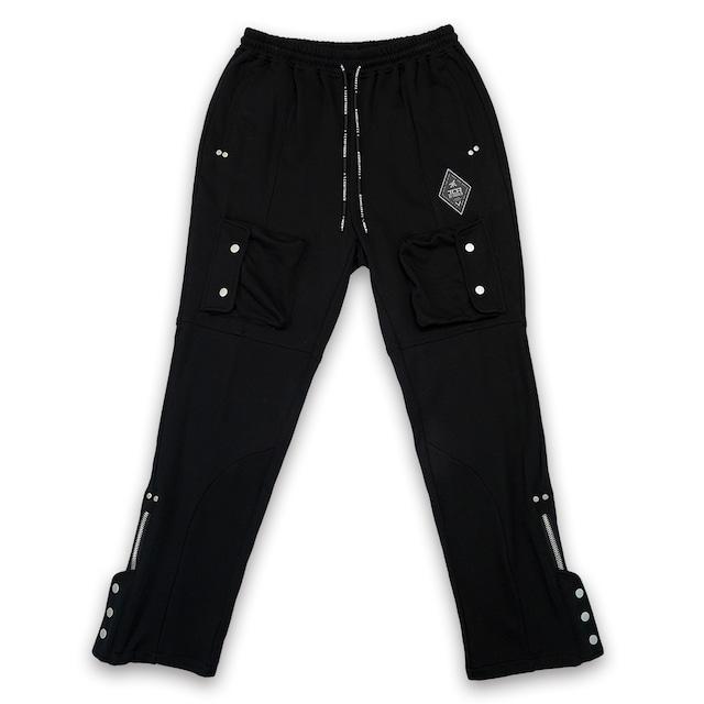 T.C.R TACTICAL CARGO PANTS - BLACK
