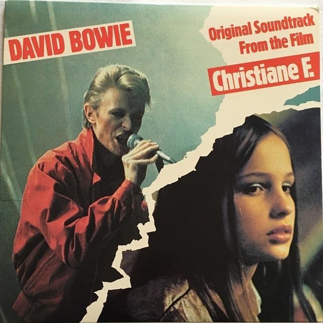 【LP・米盤】David Bowie / Original Soundtrack From The Film Christiane F.