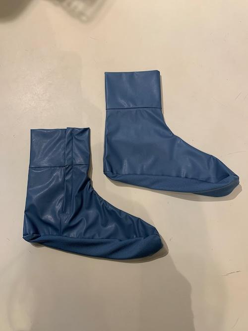 GVGV FAKE LEATHER SOCK (BLUE)