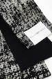 グラースオリジナル小袋帯/半巾帯 箔プリントデニム ブラック
