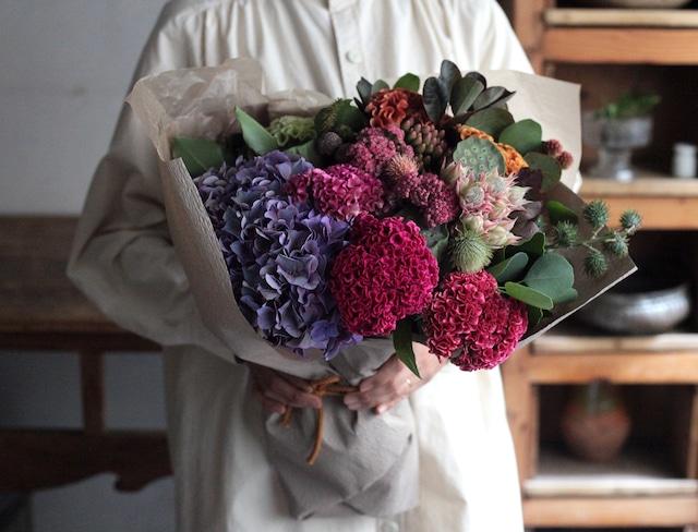 特別な調和の森のブーケ (Brilliant Bouquet)