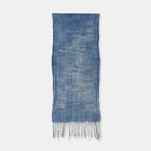 ブルキナファソ モシ族 ヴィンテージの藍染め布 古布 SLI003