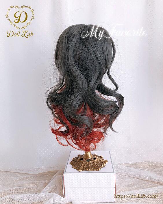 DWL014 -10inアリスシフォン[10inch]nezuko 髪なしブライス ドール ウィッグ