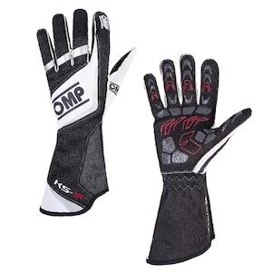 KK02740071  KS-1R Gloves (Black/White/Silver)