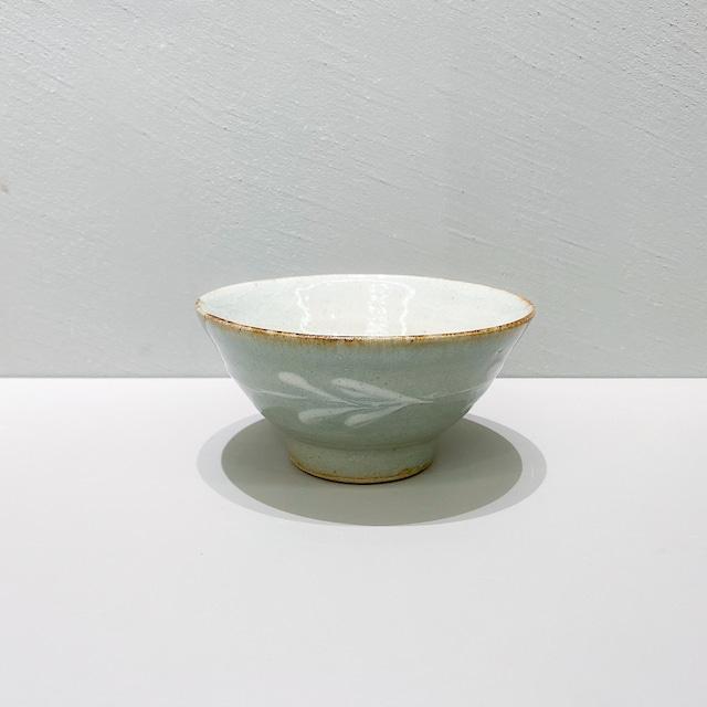 中嶋窯 飯碗 呉須釉
