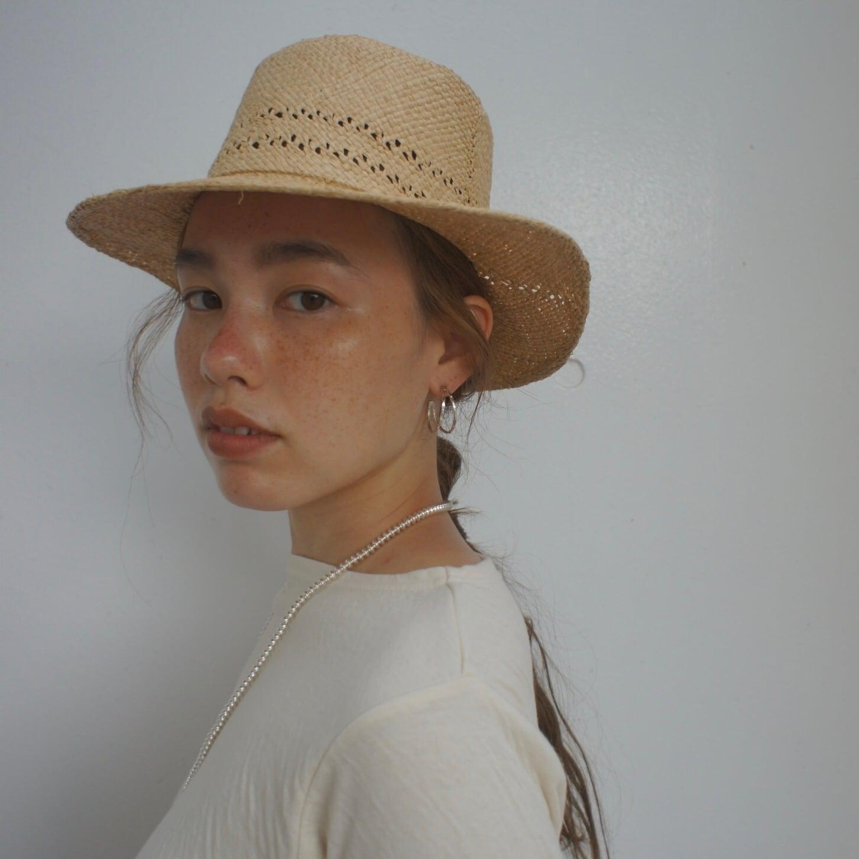 Madagascar Raffia Hat 3