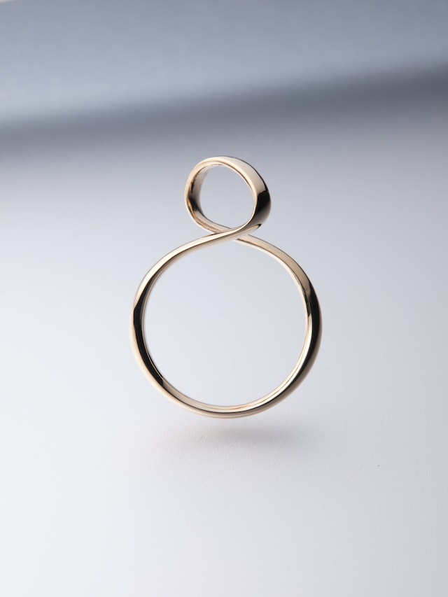 【K10】 ribon ring S(CAAC-R035-3)
