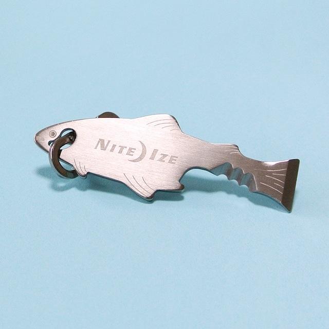 《魚》フィッシュキーツール キーホルダー 万能ツール NITEIZE ナイトアイズ