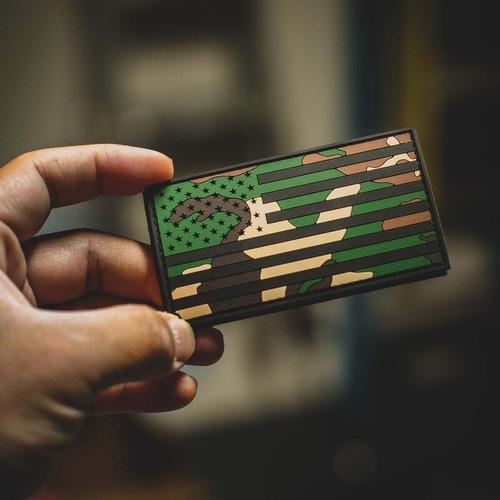 【 GunRnr 】AMERICAN FLAG: M81 WOODLAND PATCH