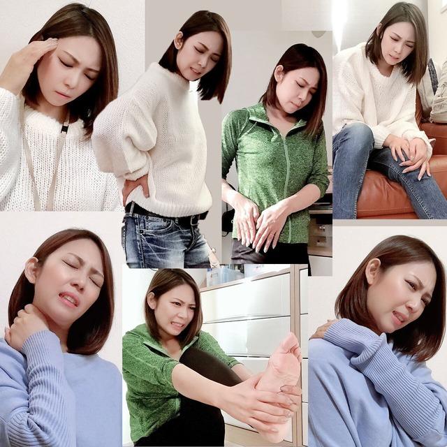 症状別7種ポーズモデル画像