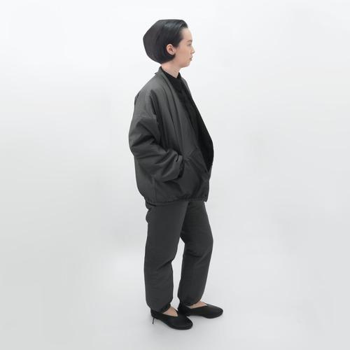 受注制/防水ナイロン/厚手キルティング/リバーシブル/カーディガンジャケット/JC-7