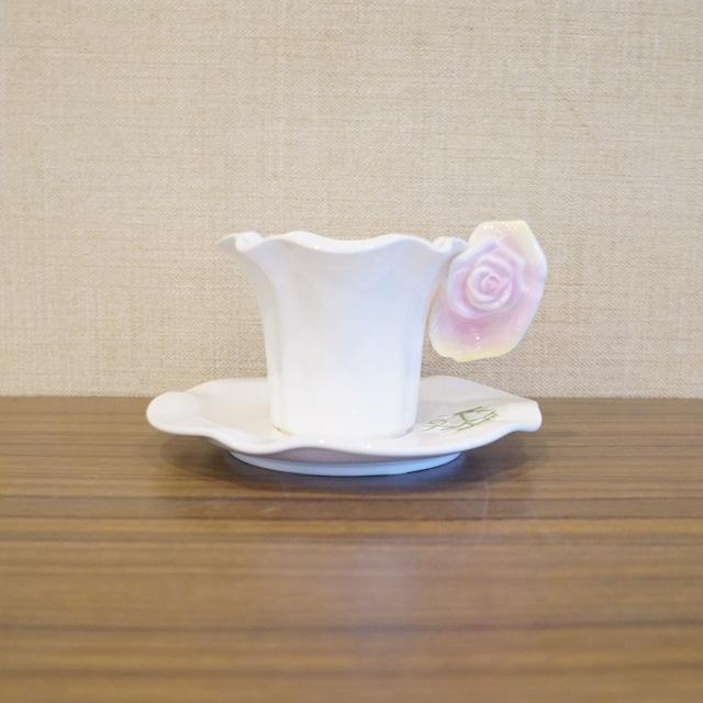 バラのカップ&ソーサー