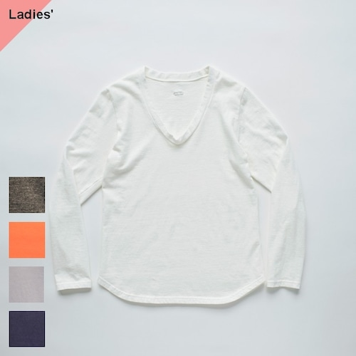 KINOTTO UネックTシャツ長袖 251C-01