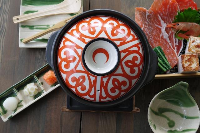 『魔法の鍋』 *1〜2人用鍋の蓋が熱によって変化する 温度をデザインに 温かさが伝わる 優しい&美味しいをデザインに 子供に優しい やけど防止 プレゼント 贈り物