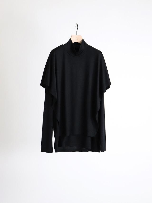 ETHOSENS layer Knit  Black