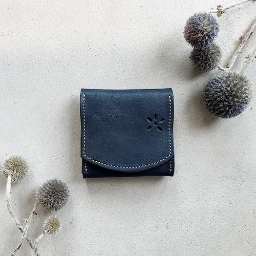 ボックスコインケース(ブルー)