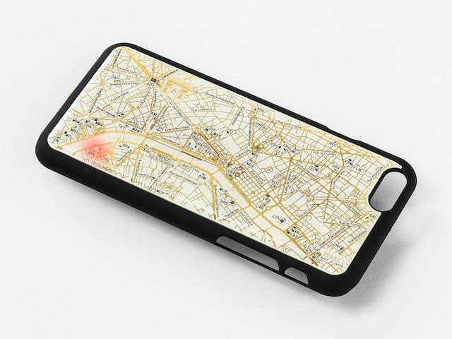 FLASH Paris回路地図 iPhone6/6s ケース 白【東京回路線図A5クリアファイルをプレゼント】