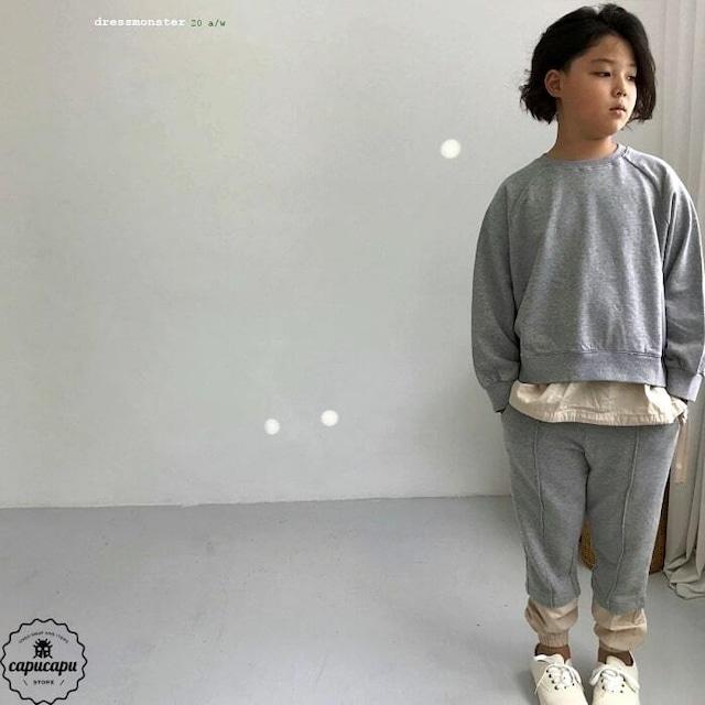 «即納» dressmonster sweat setup 2colors for size M,L,XL