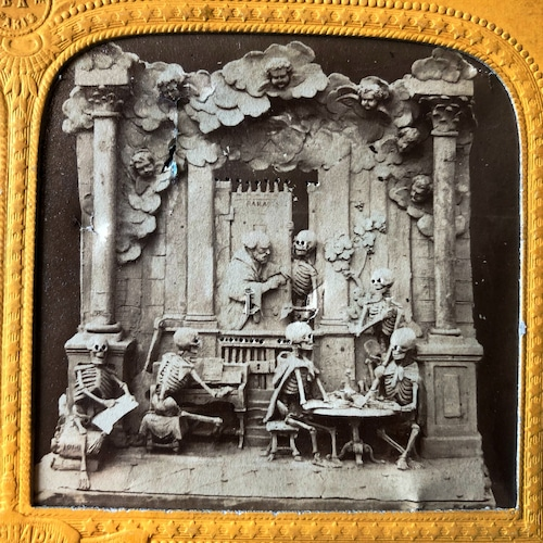 ステレオグラム「骸骨たちの楽園」