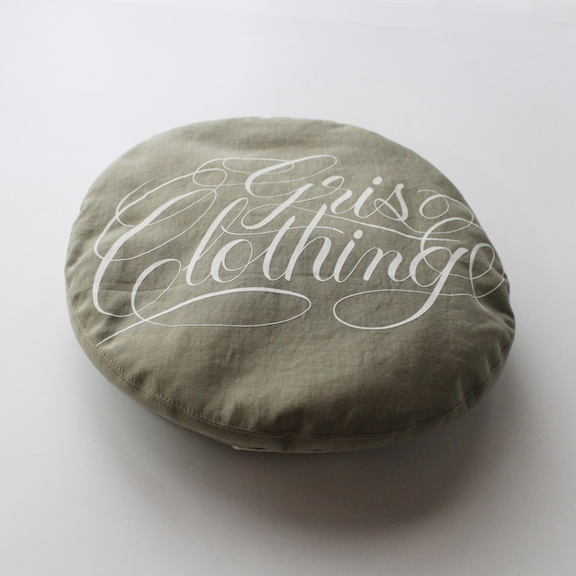 """GRIS 21SS Beret""""GRIS Clothing"""" Sサイズ (Army Green) [DR21SS-AC001A]※メール便可"""