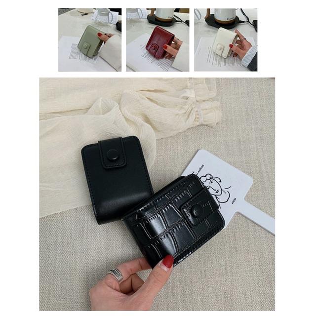 タバコケース コスメケース ミラー付きコスメ収納ケース シガーレットケース ミニ コンパクト 鏡 小物入れ 小さめ おしゃれ 使いやすい シンプル