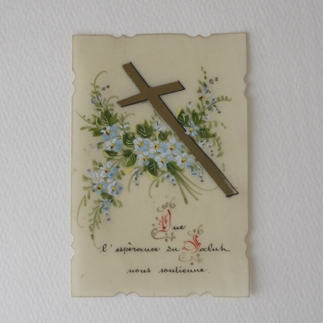 CELLULOID HOLY CARD /vp0001