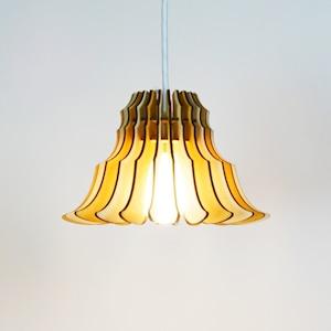 「フランネルフラワー(メープル)」木製ペンダントライト