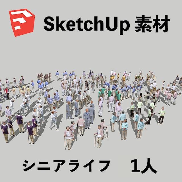 シニアSketchUp素材 4l_002 - メイン画像