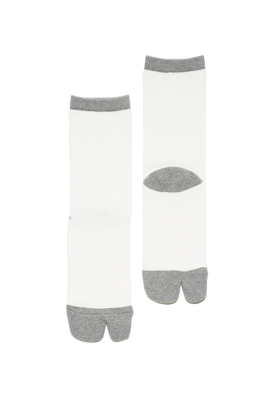 NODAL×今宿麻美 Two-tone Sox White × Gray