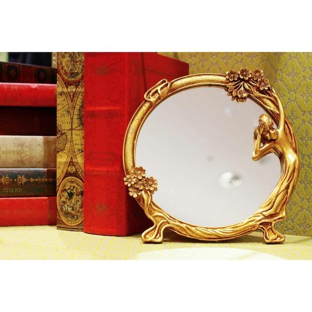 スタンドミラー兼壁掛ミラー(0126_05)浜松雑貨屋 C0pernicus