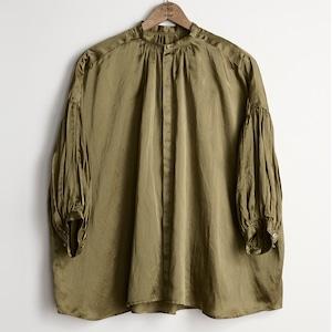 suzuki takayuki スズキタカユキ flared blouse nude