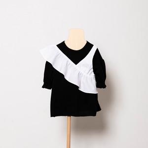 folk made one shoulder (white) Mサイズ F21SS011