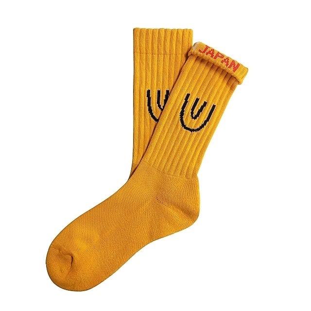 """""""Symbol -mustard-"""" Socks"""