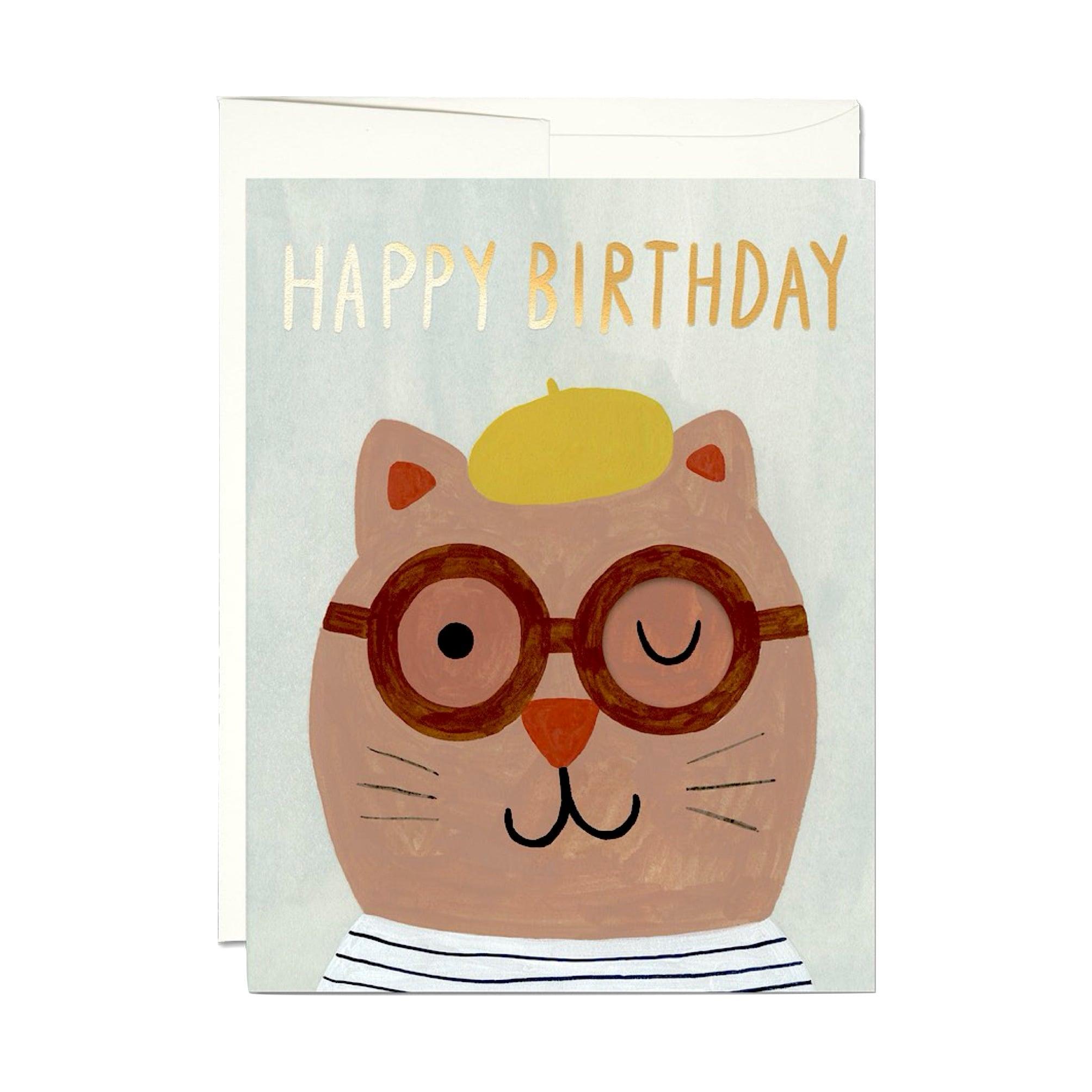 """グリーティグカード「たくさんの猫」 Greeting Card """"LOTS OF CATS"""""""