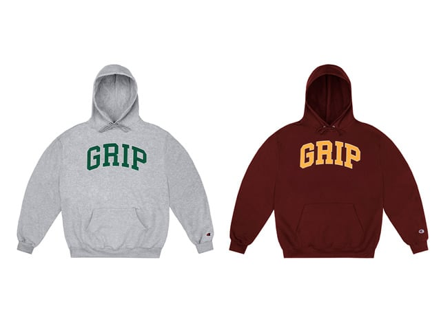 CLASSIC GRIP GRIP HOODIE WITH 90s PUFF PRINT