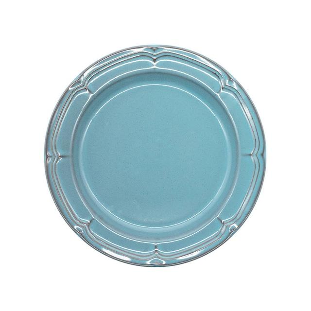Koyo ラフィネ リムプレート 皿 21.5cm アンティークブルー 15987105