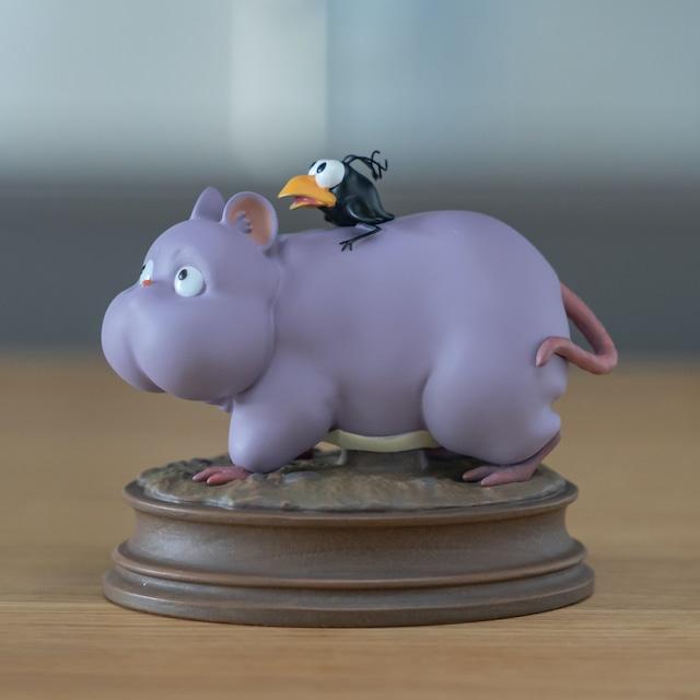 【8/7発売開始】 千と千尋の神隠し 置物 / オブジェ てくてく坊ネズミ(2339)