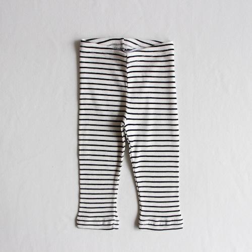 《MINGO. 》Legging(rib) / Stripes