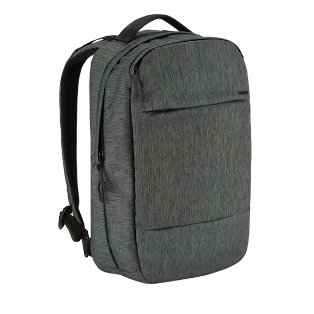 INCASE City Collection Compact Backpack - Heather Black