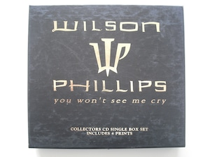 【CD Single】WILSON PHILLIPS / YOU WON'T SEE ME CRY