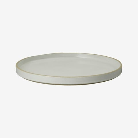 HASAMI PORCELAIN (ハサミポーセリン) Plate (Clear / グレー) 【255x21】HPM005