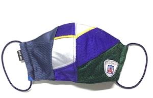 【デザイナーズマスク 吸水速乾COOLMAX使用 日本製】NFL CRAZY PATTERN SPORTS MASK CTMR 1113014