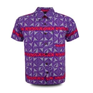 Aloha Shirt 2019 Purple × Red【Size:XL】