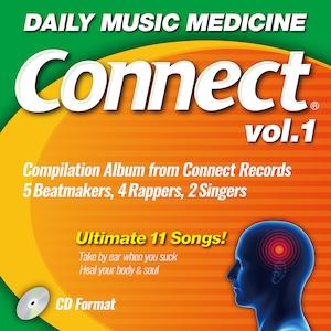 V.A/CONNECT Vol.1 特典でステッカー&リミックスCD付き
